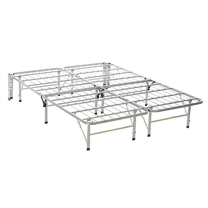 Alternate image 1 for Serta® Stabl-Base Full Bed Frame in Silver