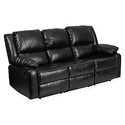 Flash Furniture Harmony Sofa in Black