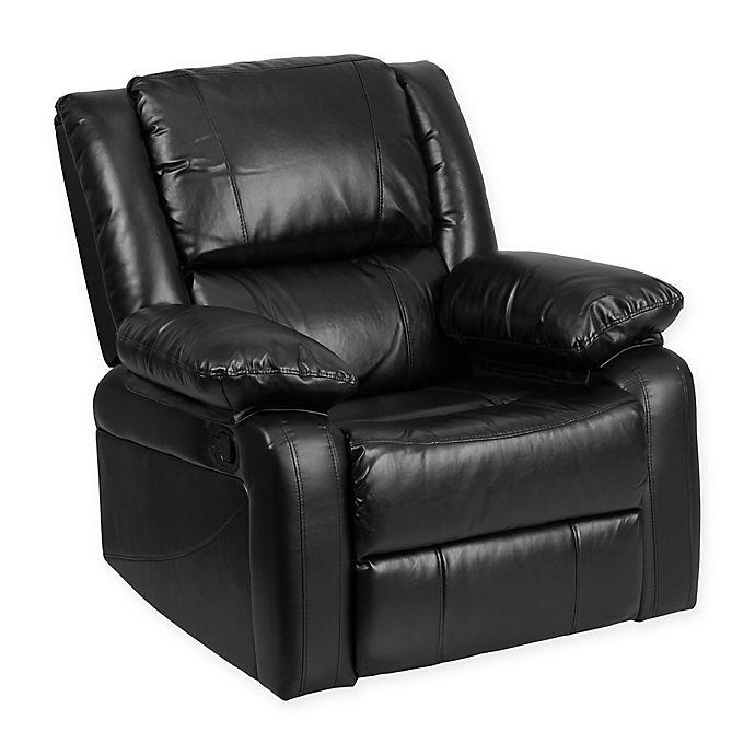 Alternate image 1 for Flash Furniture Harmony Recliner in Black