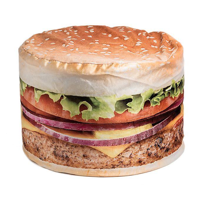Excellent Wow Works Cheeseburger Bean Bag Chair Bed Bath Beyond Machost Co Dining Chair Design Ideas Machostcouk