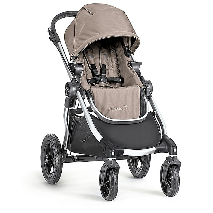 Alternate image 1 for Baby Jogger® city select® Single Stroller in Quartz/Silver