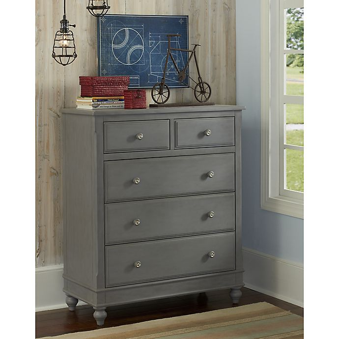 Alternate image 1 for Hillsdale 5-Drawer Lake House Chest in Stone