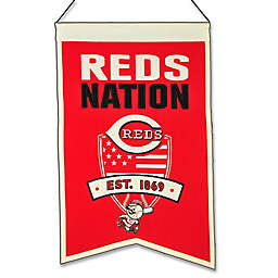 MLB Cincinnati Reds Nation Banner