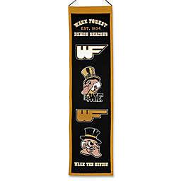 Wake Forest University Heritage Banner
