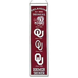 University of Oklahoma Heritage Banner
