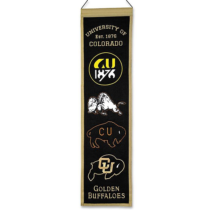 Alternate image 1 for University of Colorado Heritage Banner