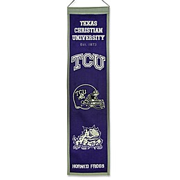 Texas Christian University Heritage Banner