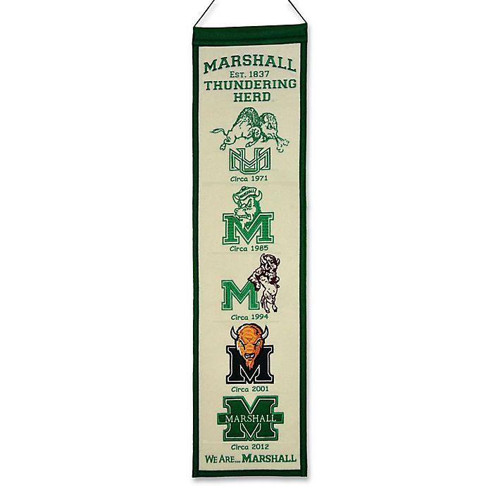 Alternate image 1 for Marshall University Heritage Banner