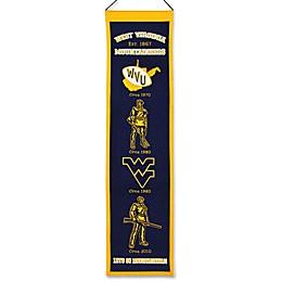 West Virginia University Heritage Banner
