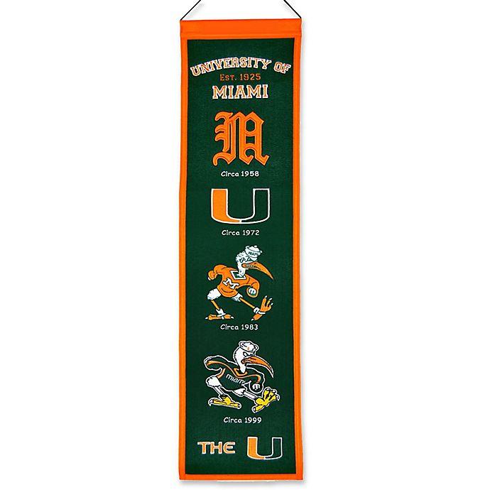 Alternate image 1 for University of Miami Heritage Banner