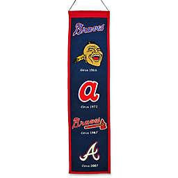 MLB Atlanta Braves Vintage Heritage Banner