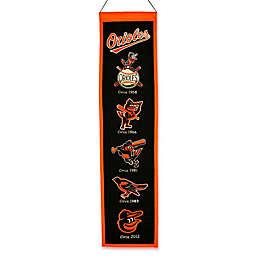 MLB Baltimore Orioles Vintage Heritage Banner