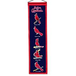 MLB St. Louis Cardinals Vintage Heritage Banner