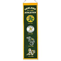 MLB Oakland A's Vintage Heritage Banner