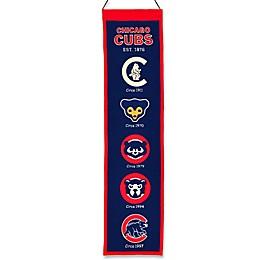 MLB Chicago Cubs Vintage Heritage Banner