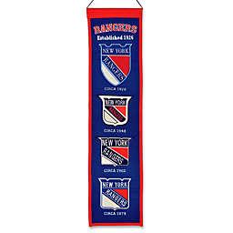NHL New York Rangers Vintage Heritage Banner