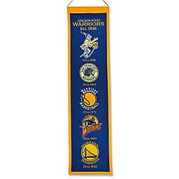 NBA Golden State Warriors Vintage Heritage Banner