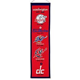 NBA Washington Wizards Vintage Heritage Banner