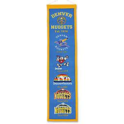 NBA Denver Nuggets Vintage Heritage Banner