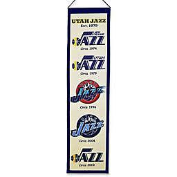 NBA Utah Jazz Vintage Heritage Banner