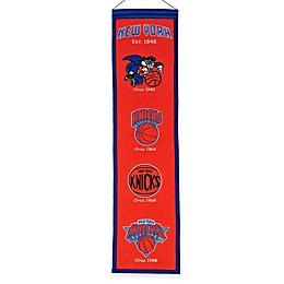 NBA New York Knicks Vintage Heritage Banner