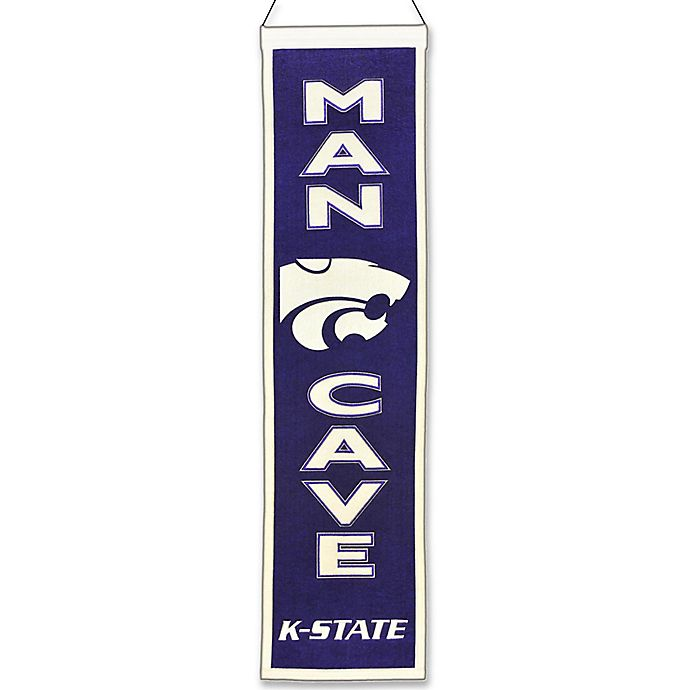 Alternate image 1 for Kansas State University Man Cave Banner