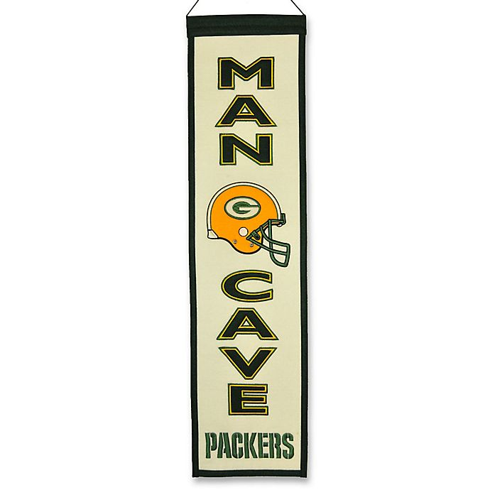 Alternate image 1 for NFL Green Bay Packers Man Cave Banner
