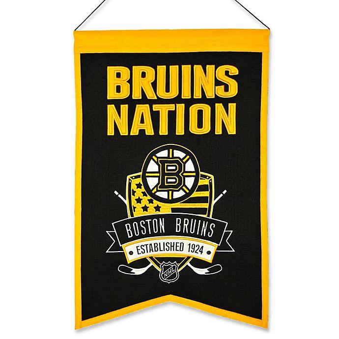Alternate image 1 for NHL Boston Bruins Nation Banner
