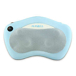 Aurora Health and Beauty Shiatsu Massager Pillow With Heat in Blue/White