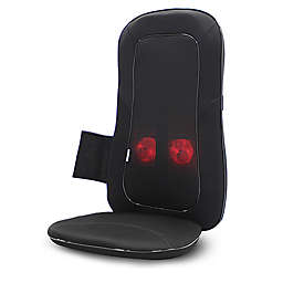 Aurora Health and Beauty 3D Massager Seat Cushion with Heat in Black