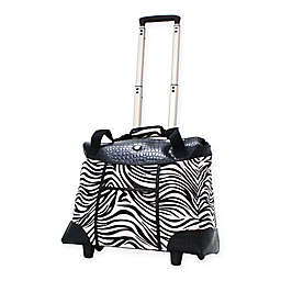 Olympia® USA Deluxe Fashion 22-Inch Rolling Tote in Zebra