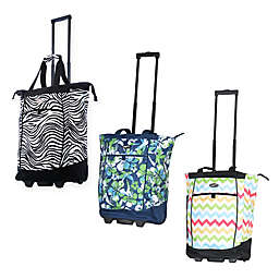 Olympia® USA Fashionista 20-Inch Rolling Shopping Tote