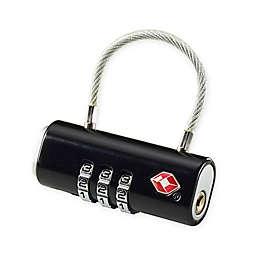 Lewis N. Clark® Travel Sentry® 2-Inch Bar Lock in Black