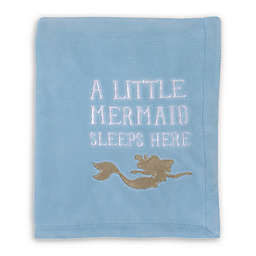 "Disney® Ariel Sea Princess ""A Little Princess Sleeps Here"" Blanket"