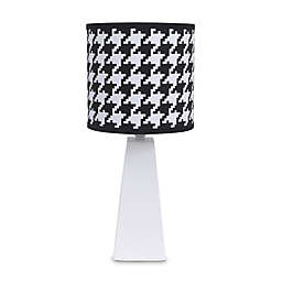 NoJo® Roar Houndstooth Lamp Shade in Black/White