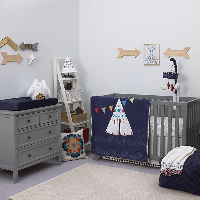 Alternate image 1 for NoJo®  Teepee 4-Piece Crib Bedding Set