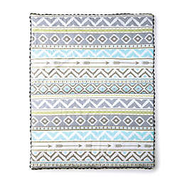 LevtexBaby® Micah Quilt in Blue/Grey