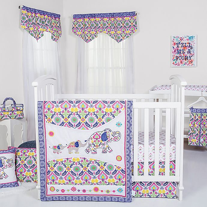 Alternate image 1 for Waverly® Baby by Trend Lab® Santa Maria Crib Bedding Collection
