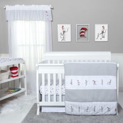 Trend Lab Dr Seuss The Cat In The Hat Comes Back 4 Piece Crib