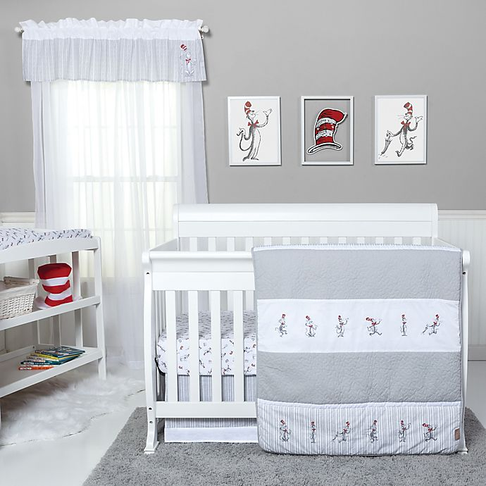Alternate image 1 for Trend Lab® Dr. Seuss® The Cat in the Hat Comes Back Crib Bedding Collection