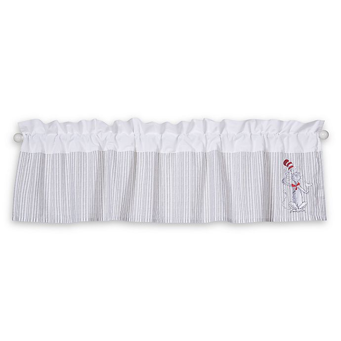 Alternate image 1 for Trend Lab® Dr. Seuss® The Cat in the Hat Comes Back Window Valance