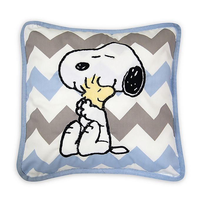 Alternate image 1 for Lambs & Ivy® My Little Snoopy™ Throw Pillow