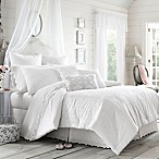 Piper & Wright Lucy King Comforter Set in White