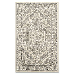Safavieh Adirondack 3-Foot x 5-Foot Area Rug in Ivory/Silver
