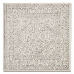 Safavieh Adirondack 4-Foot Square Accent Rug in Ivory/Silver