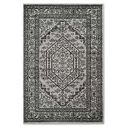 Safavieh Adirondack 6-Foot x 9-Foot Area Rug in Silver/Black