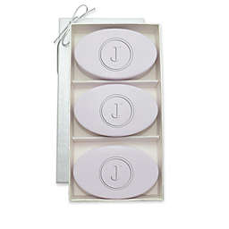 Carved Solutions Signature Spa Trio 5 oz. Oval Bar Soap Set in Lavender