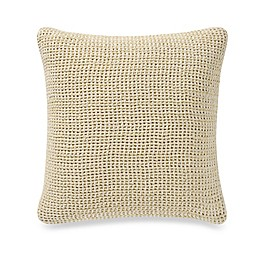 Kenneth Cole 16-Inch Square Throw Pillow in Lemon