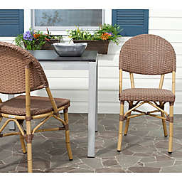 Safavieh Barrow Stacking Side Chairs (Set of 2)
