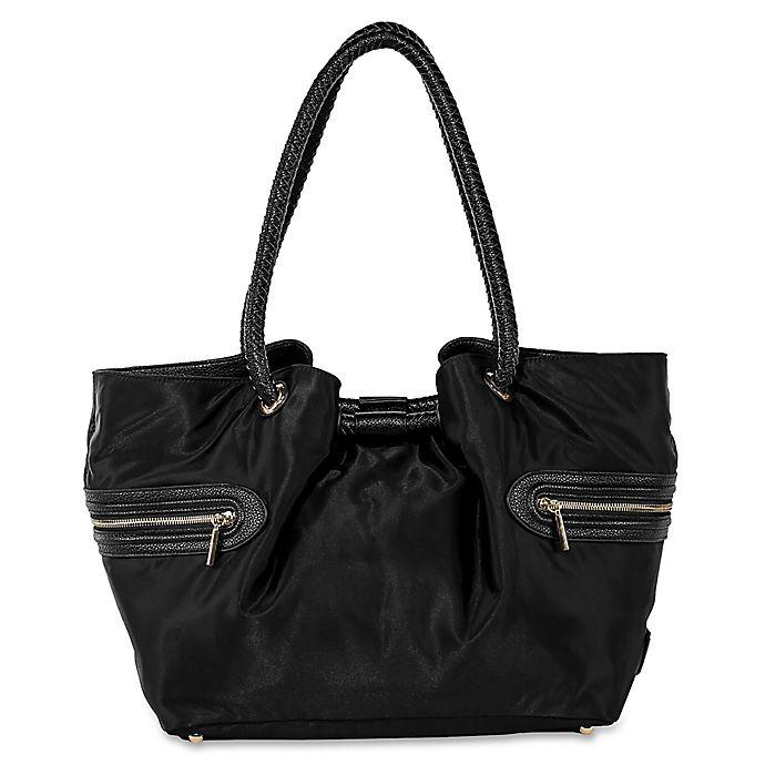 Alternate image 1 for Rosie Pope® Allison Lane Carryall Diaper Bag in Black